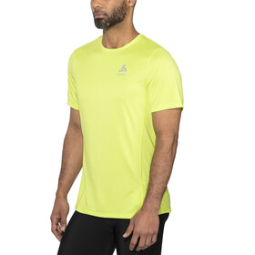 Odlo BL Element Light Special Maglia girocollo a maniche corte Uomo, acid lime